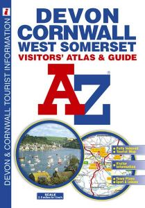 A-Z Visitor's Atlas - Devon, Cornwall & West Somerset
