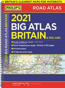 Philips Big Road Atlas Britain & Ireland - A3