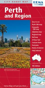 Hema City Map - Perth & Region Handy