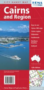 Hema City Map - Cairns & Region Handy