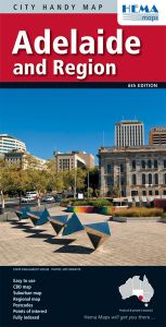 Hema City Map - Adelaide & Region Handy