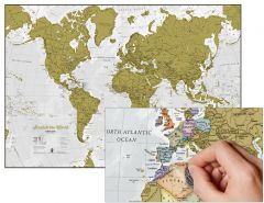 Maps International - Scratch The World