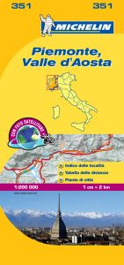 Michelin Local Map - 351-Piemonte & VA