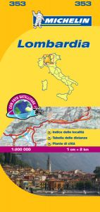Michelin Local Map - 353-Lombardia