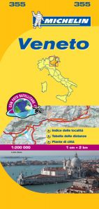 Michelin Local Map - 355-Veneto