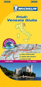 Michelin Local Map - 356-Friuli Venezia Giulia