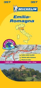 Michelin Local Map - 357-Emilia Romagna