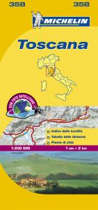 Michelin Local Map - 358-Toscana