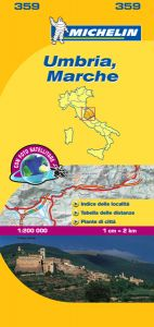 Michelin Local Map - 359-Marche & Umbria