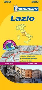 Michelin Local Map - 360-Lazio