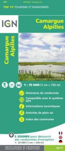 IGN Top 75 - Camargue / Alpilles