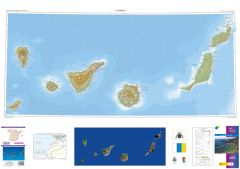 CNIG Spanish Autonomous Region Series Map - Canary Islands