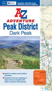 A-Z Adventure Atlas - Peak District (Dark Peak)