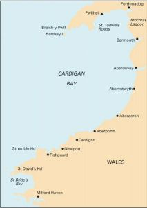 Imray C Chart - Cardigan Bay to Milford Haven to Tremadock Bay (C51)