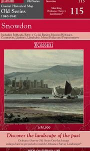 Cassini Old Series - Snowdon (1840-1841)
