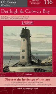 Cassini Old Series - Denbigh & Colwyn Bay (1838-1841)