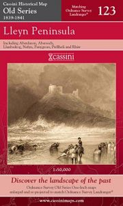 Cassini Old Series - Lleyn Peninsula (1839-1841)