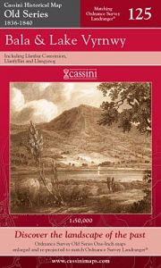 Cassini Old Series - Bala & Lake Vyrnwy (1836-1840)