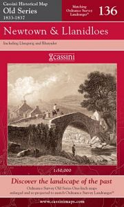 Cassini Old Series - Newtown & Llanidloes (1833-1837)