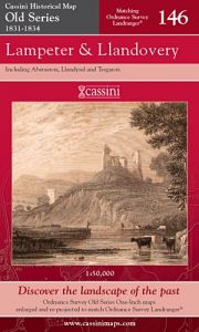 Cassini Old Series - Lampeter & Llandovery (1831-1834)