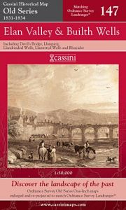 Cassini Old Series - Elan Valley & Builth Wells (1831-1834)