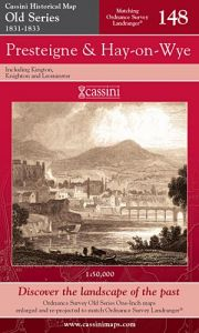 Cassini Old Series - Presteigne & Hay-on-Wye (1831-1833)