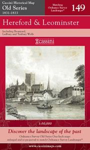 Cassini Old Series - Hereford & Leominster (1831-1833)