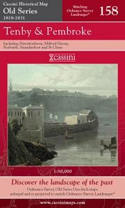 Cassini Old Series - Tenby & Pembroke (1818-1831)