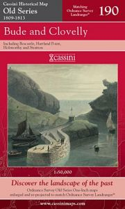 Cassini Old Series - Bude & Clovelly (1809-1813)