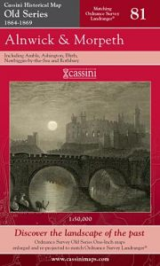 Cassini Old Series - Alnwick & Morpeth (1864-1869)