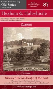 Cassini Old Series - Hexham & Haltwhistle (1863-1869)