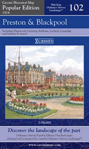 Cassini Popular Edition - Preston & Blackpool (1924)