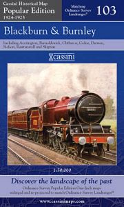 Cassini Popular Edition - Blackburn & Burnley (1924-1925)
