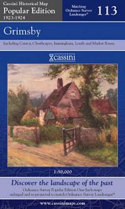Cassini Popular Edition - Grimsby (1923-1924)
