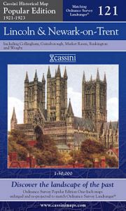 Cassini Popular Edition - Lincoln & Newark-on-Trent (1921-1923)
