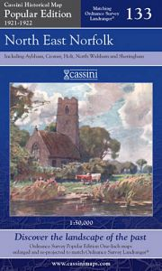 Cassini Popular Edition - North East Norfolk (1921-1922)