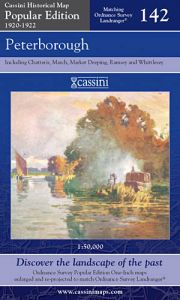 Cassini Popular Edition - Peterborough (1920-1922)