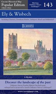 Cassini Popular Edition - Ely & Wisbech (1920-1922)