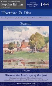 Cassini Popular Edition - Thetford & Diss (1920-1922)