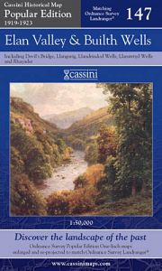 Cassini Popular Edition - Elan Valley & Builth Wells (1919-1923)