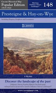 Cassini Popular Edition - Presteigne & Hay-on-Wye (1919-1920)