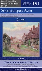 Cassini Popular Edition - Stratford-upon-Avon (1919-1921)