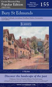 Cassini Popular Edition - Bury St Edmunds (1920-1921)