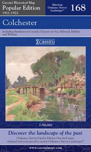 Cassini Popular Edition - Colchester (1921-1922)