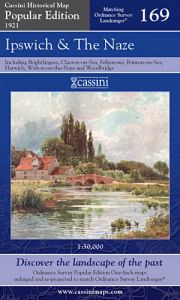 Cassini Popular Edition - Ipswich & The Naze (1921)