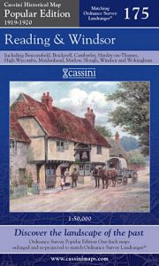 Cassini Popular Edition - Reading & Windsor (1919-1920)