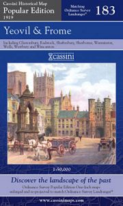 Cassini Popular Edition - Yeovil & Frome (1919)