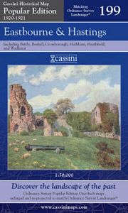 Cassini Popular Edition - Eastbourne & Hastings (1920-1921)