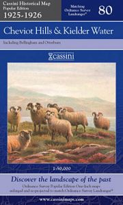 Cassini Popular Edition - Cheviot Hills & Kielder Water (1925-1926)