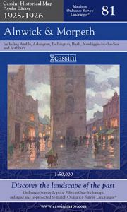 Cassini Popular Edition - Alnwick & Morpeth (1925-1926)